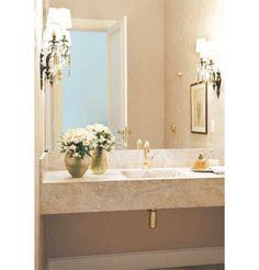 Cinco lavabos com decoração de encher os olhos - Casa Bathroom Design Luxury, Bathroom Design Small, Modern Bathroom, Sink Design, Toilet Design, Dream Bathrooms, Beautiful Bathrooms, Bathroom Wall Decor, Bathroom Furniture
