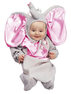 The Little Elephant Bunting Newborn Infant Costume is the best 2019 Halloween costume for you to get! Everyone will love this Baby/Toddler costume that you picked up from Wholesale Halloween Costumes! Newborn Halloween Costumes, Toddler Costumes, Baby Costumes, Halloween Outfits, Baby Elephant Costume, Theme Halloween, Halloween Ideas, Girl Halloween, Costumes