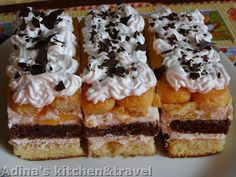 Adina's kitchen & travel: Prajitura de cofetarie