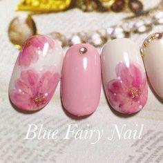 春といえば桜!とっても大人かわいくっておすすめな「桜ネイル」のデザインをいろいろ集めてみました♡