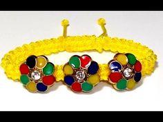 COMO HACER UNA PULSERA AJUSTABLE CON BOTONES DE COLORES Y NUDOS DE MACRAME. TUTORIAL DIY  En este video os voy a enseñar como realizar una pulsera adornada con botones.  Estos tienen forma de flor multicolor con una piedra incrustada en el centro. Podeis reciclar botones que tengais guardados en casa. ¿Teneis viejos botones bonitos a los que no sabíais como dar utilidad? Esta es una idea para poder reutilizarlos y crear una pulsera personalizada. Espero que os guste.