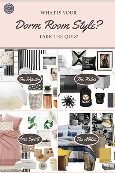 Take Havenlyu0027s Dorm Room Style Quiz | Dorm Room, Dorm And Dorm Room Styles