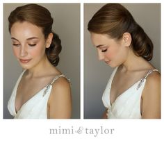 mimi & taylor: DIY- classic 1950's, beautiful wedding hair, I wasn't planning wearing my hair up but this is beautiful