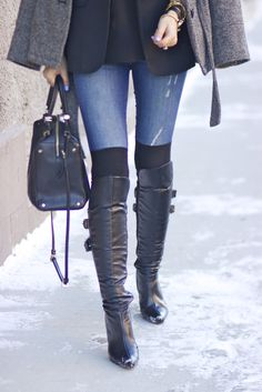 Over The Knee socks + boots