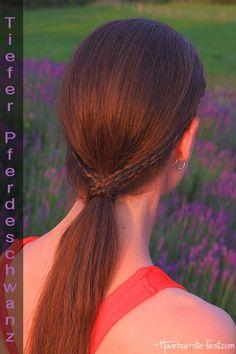 Tiefer Pferdeschwanz Hair Styles, Beauty, Quick Work Hairstyles, Pony Tails, School, Tutorials, Beleza, Hairdos, Hairstyles