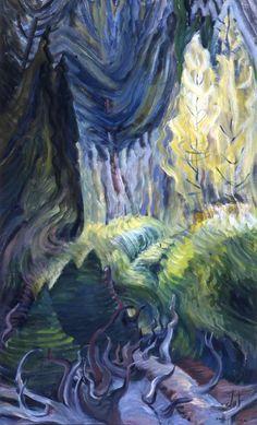 Carr, Emily - Lumière plongeante - Art Gallery of Greater Victoria, Victoria