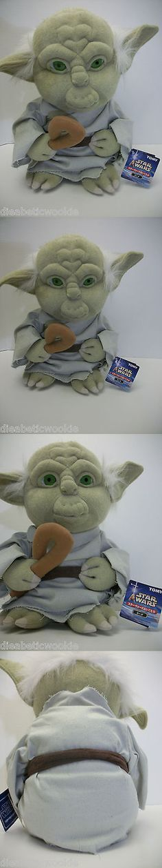 Other Beanbag Plush 49020: Star Wars Saga Japanese Terry Cloth Yoda Plush Doll Tomy Rare With Tags Toy -> BUY IT NOW ONLY: $99.99 on eBay!