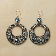 Lisa Yang's Jewelry Blog: Free Tutorial: Channel Set Garnet Rondelle Wire Wrap Hoop Earrings