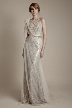 Daring and demure: Brides with one shoulder wedding dresses to die for - Wedding Party