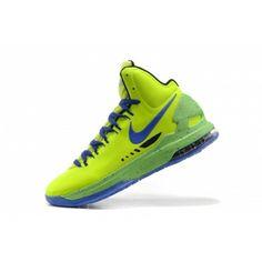 Buy 2013 Nike KD 5 V Volt Blue Mens Shoe |++|Sale Price