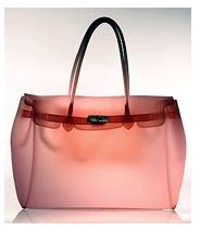 """Jelly """"birkin"""" style bag...I so have one and I'm so going to carry it again after 7 years :)"""