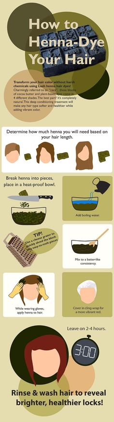How to Henna-Dye Your Hair