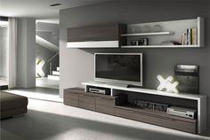 Tv Cabinet Design, Tv Unit Design, Tv Wall Design, House Design, Living Room Tv Unit, Living Room Modern, Home Living Room, Living Room Designs, Living Tv