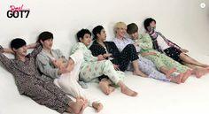 Got7 realgot7 on left BamBam, Mark, Jr, Jackson, Yugeom, Youngjar, JB