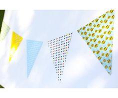 Bee-utiful Bumblebee Theme Pennant Banners