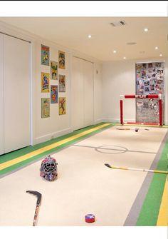 Umm floor hockey? He'll yes! We need this!