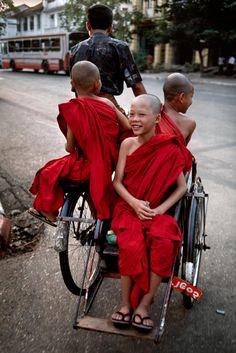 Myanmar children! Aline
