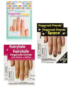 Take a look at this Fairytale Fingernail Friends Nail Art Stickers today!