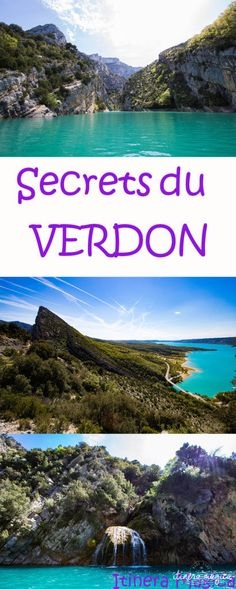 The Verdon or secret Provence! Discover the lake of Sainte Croix, the road of the ridges, and the most beautiful panoramas on the Verdon. Travel in one of the most beautiful places in France. Road Trip France, France Europe, South Of France, France Travel, Paris France, Europe Travel Tips, Places To Travel, Travel Destinations, Places To Go