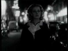 Ascenseur pour l'echafaud, Jeanne Moreau walking through a midnight Paris to the music of Miles Davis