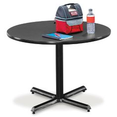 Correll BXT24R Round Bar and Cafe Table Height Table $100 ,http://www.amazon.com/dp/B0029SPIJE/ref=cm_sw_r_pi_dp_PCvttb1AVH7V493G