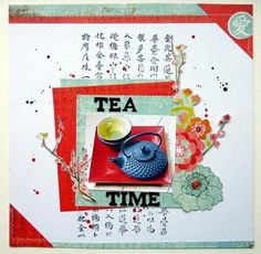 Tea time by Anke Kramer at @Studio_Calico