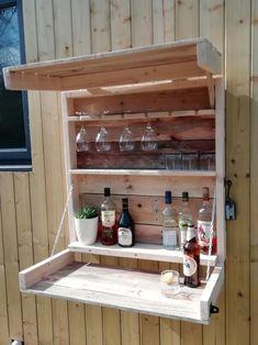 Wall based garden bar