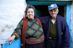 Vasili, at the age of 100 (right), and wife Eleftheria stood side by side after many years of marriage and demonstrate that committed relationships and a strong sense of purpose can add measurable good years to your life. Tag a friend or significant other that you'll be standing by at the age of 100!