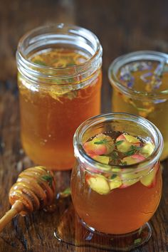 A jar of honey, the product of an age-old dance between bees and flowers, is truly a gift of nature. You can further enhance the flavor of honey with fresh herbs, flowers, spices and citrus -- keep...