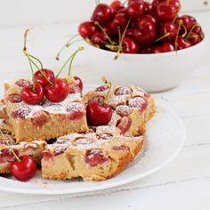 Třešňová bublanina - Fitness Recepty Bruschetta, French Toast, Breakfast, Ethnic Recipes, Food, Diet, Morning Coffee, Essen, Meals