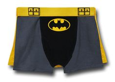 The Batman Belt Caped Boxer Briefs are Perfect for Fans of this Classic Hero #geek #gifts trendhunter.com