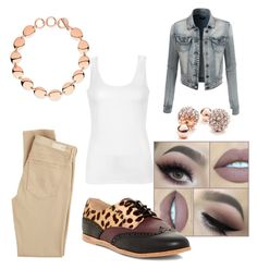 """""""just so simple"""" by mekaboo142 ❤ liked on Polyvore featuring LE3NO, AG Adriano Goldschmied, Ally Fashion, Dolce Vita, Links of London and GUESS"""