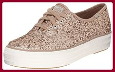 Keds Sneaker Women TRIPLE GLITTER WF54706 Champagne, Schuhgröße:41 - Sneakers für frauen (*Partner-Link)
