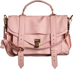 Same Proenza Schouler in pink leather - gorgeous <3