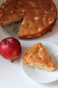 Bajkorada: Ciasto jogurtowe z jabłkami