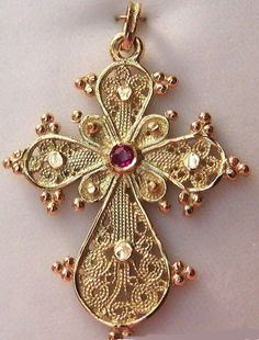 The history of Byzantine crosses began with St. Constantine, who was the fourth century Emperor of the Roman Empire. St. Constantine was int...