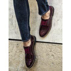 Mecrea Jerry Bordo Exclusive Oxford Loafer