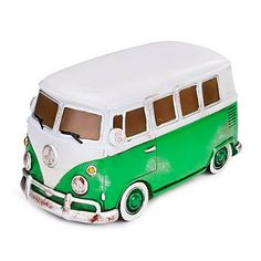 RETRO STYLE GREEN VW CAMPER VAN LED TABLE, DESK LAMP LAMP Led Lamp, Lamps, Retro Vintage, Vintage Table, Table Lamp, Table Desk, Vw Camper, Led Night Light