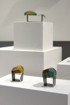Cristina Zani jewellery at the 2012 Edinburgh College of Art Degree Show