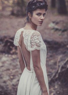 Laure de Sagazan – Nouvelle collection – 2013 – Robe de mariée – La mariee aux pieds nus