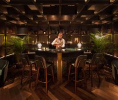 <p>The whiskey bar Foxglove is located in Hong Kong at the Printing House on Duddell Street. It is the second bar opened by the Ming Fat House owner team of Jonathan Bui (Canadian), Eric Lam (American