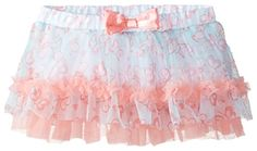 Babystarters BabyGirls Newborn Butterfly Print Tutu Skirt Aqua 3 Months * Find out more about the great product at the image link.