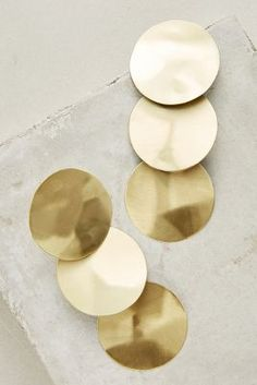 Discover unique statement earrings at Anthropologie, including the season's newest arrivals. Gold Statement Earrings, Pendant Earrings, Women's Earrings, Fashion Jewelry, Women Jewelry, Women's Fashion, Photo Jewelry, Fashion Accessories, Minimalist Jewelry