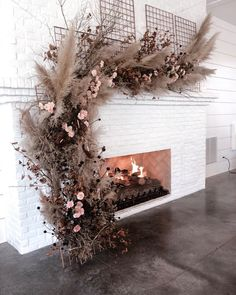 Floral installations are a hot 2019 wedding trend pampasgrass floralinstallation weddingtrend weddingplanning weddingdesign is part of Floral arrangements wedding - Wedding Trends, Boho Wedding, Floral Wedding, Wedding Bouquets, Wedding Flowers, Wedding Colors, Wedding Aisles, Wedding Floral Arrangements, Dried Flower Arrangements