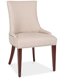 Furniture Prince Accent Chair, Quick Ship & Reviews - Furniture - Macy's Linen Dining Chairs, Dining Chair Set, Table Linens, Desk Chairs, Dining Room, Prince, Baby Room Lighting, Bedroom Desk, Space Furniture