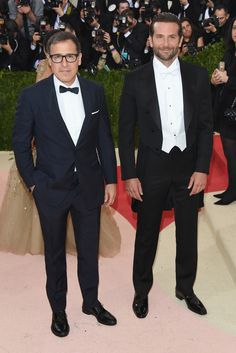 2016 Met Gala - Director David O. Russell and Bradley Cooper