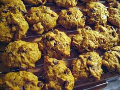 Spelt flour pumpkin cookies and some tips on healthier baking.