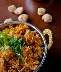If you are not sure what you can make out of Soya Chunks, here's an easy to make Soya Chunks Biryani Recipe!