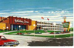 Vintage Postcard Holiday Inn St John's Newfoundland Canada