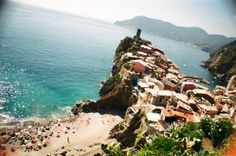 Vernazza, Cinque Terre, Italy (shot on 35mm film using a @Lomography UK La Sardina camera)